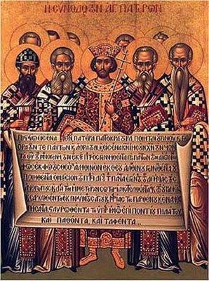 Κυριακή των 318 Πατέρων της Α΄ Οικουμενικής Συνόδου.