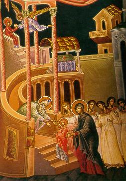 Λόγος του Αγίου Ιωάννου του Χρυσοστόμου στην Υπαπαντή του Ιησού Χριστού.