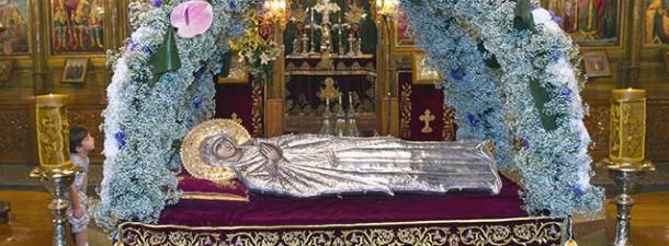 Η Κοίμησις της Θεοτόκου «Τη 15η του μηνός Αυγούστου.