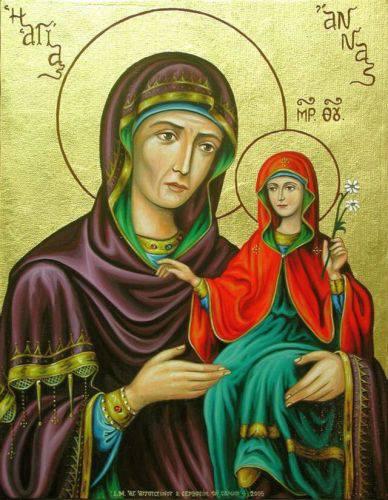 Η Σύλληψις της Αγίας Άννης εορτάζεται στις 9 Δεκεμβρίου.
