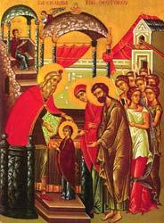Εισόδια της Θεοτόκου 21 Νοεμβρίου.
