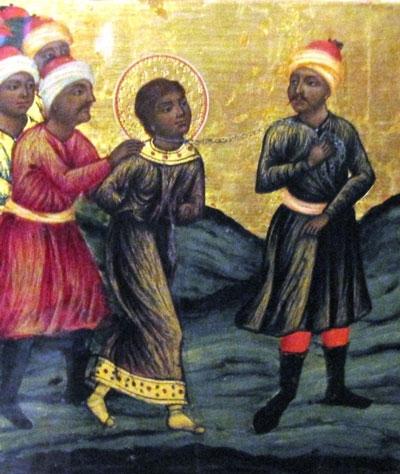 Ο Άγιος Μιχαήλ ο Μαυρουδής ο Νεομάρτυρας τιμάται 21 Μαρτίου ε.ε. ή και 4 μέρες μετά το Άγιο Πάσχα.