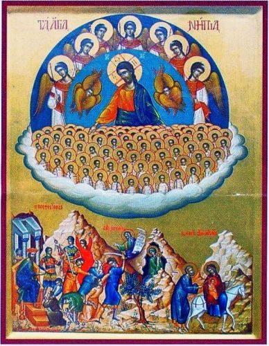 Τα Άγια Νήπια (περίπου 14.000) που εσφάγισαν με διαταγή του Ηρώδη.