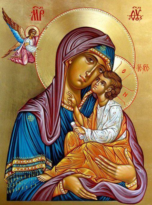 Προσευχή στην Υπεραγία Θεοτόκο  (Αγίου Νικοδήμου Αγιορείτου)