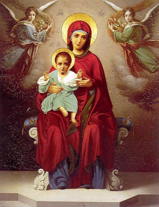 Ωδή πρός την Υπεραγία Θεοτόκο  (Αγίου Νεκταρίου)