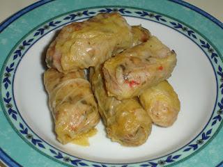 Ντολμαδάκια Νηστίσιμα με Λάχανο και Φακές.