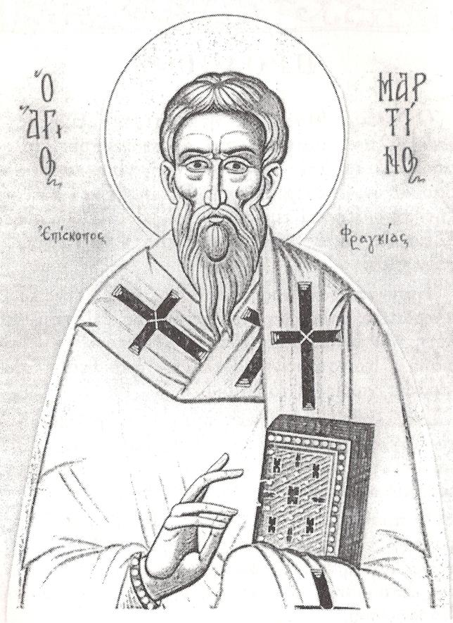 Ο Όσιος Μαρτίνος Επίσκοπος Φραγκιάς ο θαυματουργός εορτάζει στις 12 Νοεμβρίου