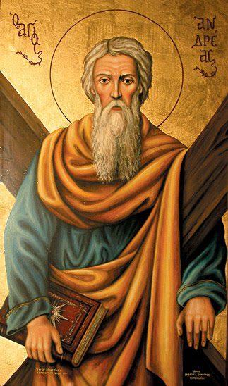 Ο Απόστολος Ανδρέας ο Πρωτόκλητος στις 30 Νοεμβρίου και η Ανακομιδή της Τιμίας Κάρας στις 26 Σεπτεμβρίου.