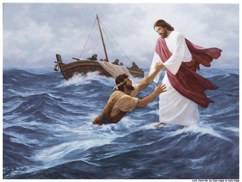 Κυριακή Θ\' Ματθαίου –Περπατώντας πάνω στα κύματα.