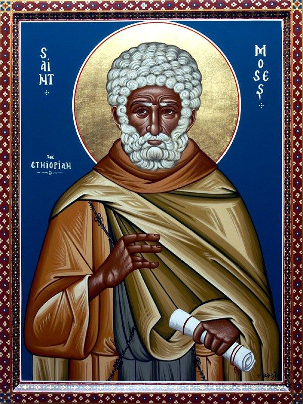 Αποτέλεσμα εικόνας για Όσιος Μωυσής ο Αιθίοπας