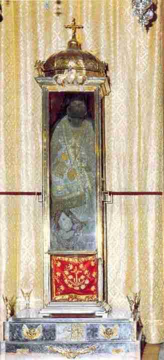 Στις 24 Αυγούστου η διακομιδή παραλαβή του άφθαρτου σκηνώματός του Αγίου Διονυσίου.
