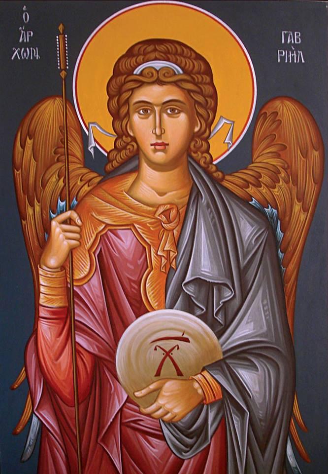 Η Σύναξη του Αρχαγγέλου Γαβριήλ «εν τω Άδειν» στις 13 Ιουλίου ε.ε.