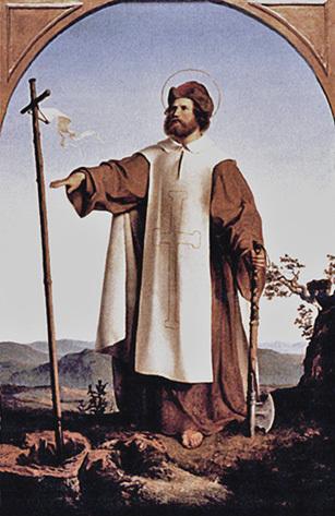 Άγιος Βονιφάτιος, απόστολος της Γερμανίας. 5 Ιουνίου ε.ε.