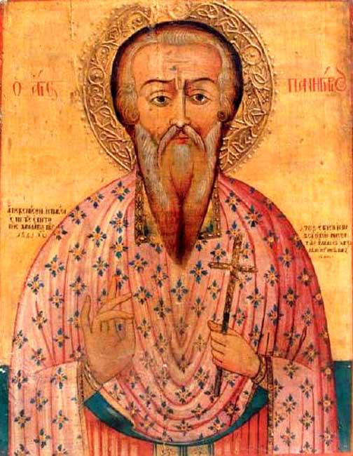 Ο Άγιος Πανηγύριος ο Θαυματουργός, 15 Μαίου ε.ε.