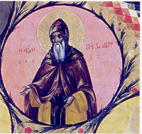 Ο Οσιομάρτυρας Παχώμιος ο Αγιοπαυλίτης. 7 Μαϊου ε.ε.