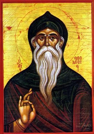 Ο Όσιος Θεοδόσιος ο Κοινοβιάρχης και καθηγητής της Ερήμου. 11 Ιανουαρίου ε.ε.