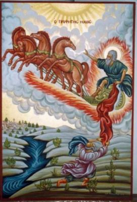 Ο Προφήτης Ηλίας ο Θεσβίτης. 20 Ιουλίου ε.ε.