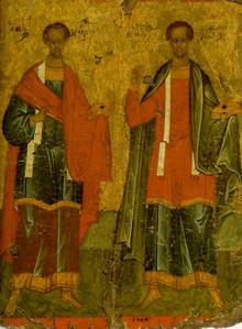 Οι Άγιοι Ανάργυροι Κοσμάς & Δαμιανός, Υιοί Θεοδότης, οι εξ Ασίας !