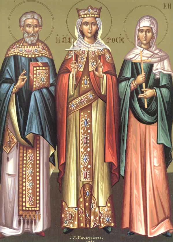 Η Αγία Δροσίδα και των συν αυτή πέντε Παρθένων εορτάζουν στις 22 Μαρτίου.