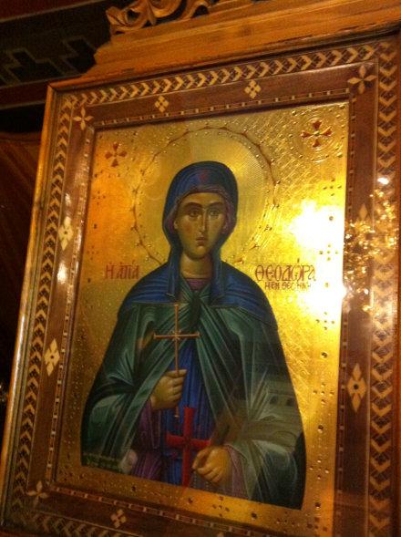 Η Οσία Θεοδώρα η εν Θεσσαλονίκη, 3 Αυγούστου ε.ε.