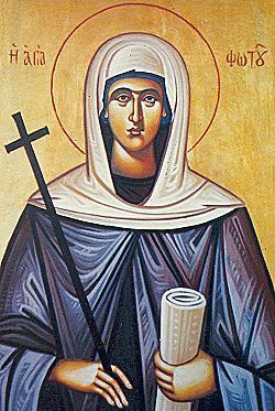 Η αγία Φωτεινή η Κυπριά, η Αγία Φωτού 7 Μαϊου ε.ε.