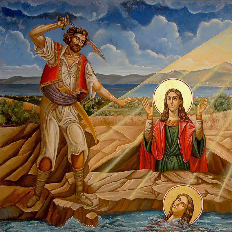 Αγία Μαρκέλλα η Παρθενομάρτυς η Χιοπολίτιδα. 22 Ιουλίου ε.ε.
