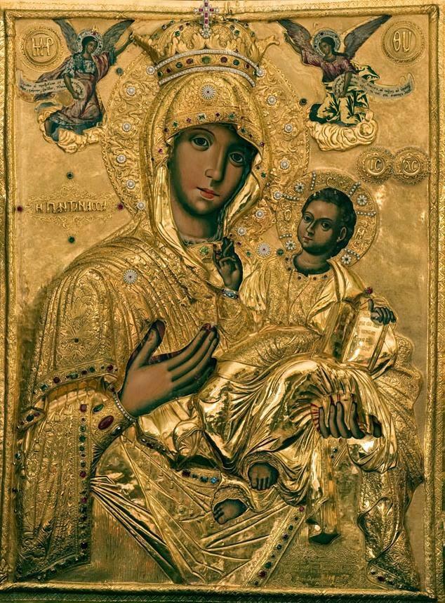 Ψαλτοτράγουδο στην Παναγία την Παντάνασσα της Ι. Μονής Βατοπαιδίου.