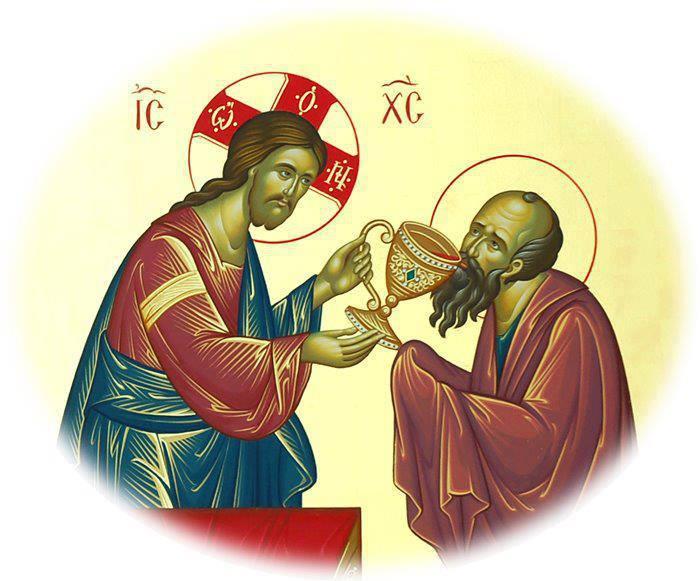 Την ώρα που η Θεία Λειτουργία τελείται στην γη, τότε μια άλλη λειτουργία τελείται στον Ουρανό.