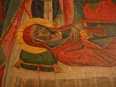 Κοίμηση της Θεοτόκου. Αγρυπνία στην Ιερά μονή Ιβήρων. (Ακούστε)