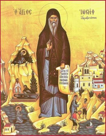 Όσιος Ιωσήφ ο Γεροντογιάννης. 7 Αυγούστου ε.ε.