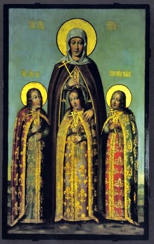 Αγία Σοφία και οι τρεις θυγατέρες της Πίστη, Ελπίδα και Αγάπη. 17 Σεπτεμβρίου ε.ε. (Δείτε - Ακούστε το)