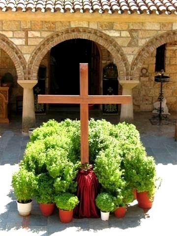 Ύψωση του Τιμίου και Ζωοποιού Σταυρού. 14 Σεπτεμβρίου ε.ε. (Δείτε το Ακούστε το).