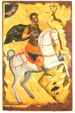 Άγιος Ευστάθιος και η συνοδεία του, Θεοπίστη η σύζυγος του, Αγάπιος και Θεόπιστος τα παιδιά του. 20 Σεπτεμβρίου ε.ε.