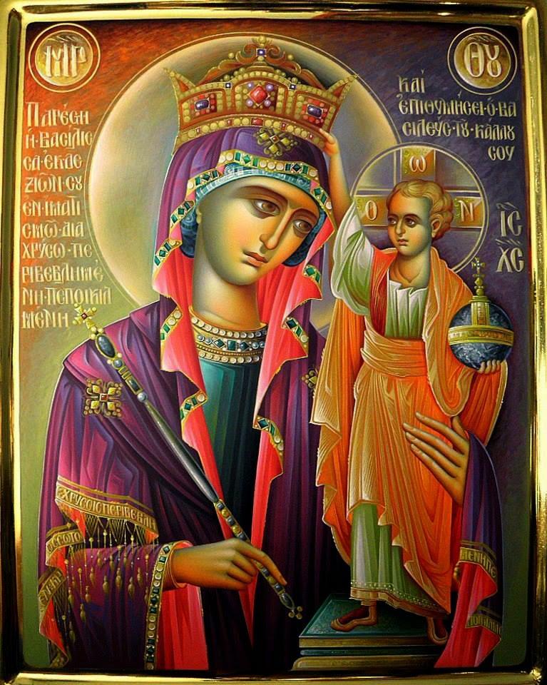 Σύναξη της Παναγίας της Βασίλισσας στο Μουζάκι Καρδίτσας. 19 Οκτωβρίου ε.ε.