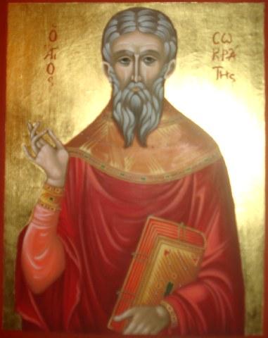 Αγία Θεοδότη και ο Άγιος Σωκράτης ο Πρεσβύτερος. 21 Οκτωβρίου ε.ε.