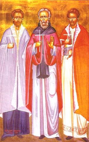 Άγιοι Λάμπρος, Θεόδωρος και έτερος Ανώνυμος οι Νεομάρτυρες. 2 Νοεμβρίου ε.ε.