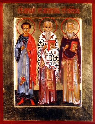 Άγιοι Ακεψιμάς, Ιωσήφ και Αειθαλάς. 3 Νοεμβρίου ε.ε.