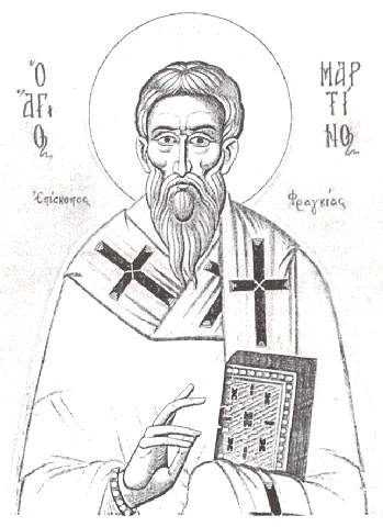 Όσιος Μαρτίνος ο θαυματουργός επίσκοπος Φραγκιάς. 12 Νοεμβρίου ε.ε.
