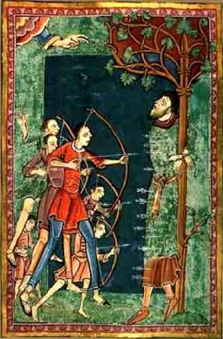 Άγιος Edmund ο μάρτυρας. 20 Νοεμβρίου ε.ε.