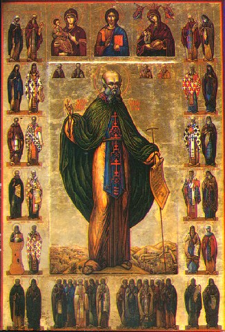 Άγιος Σάββας ο Ηγιασμένος. 5 Δεκεμβρίου ε.ε.