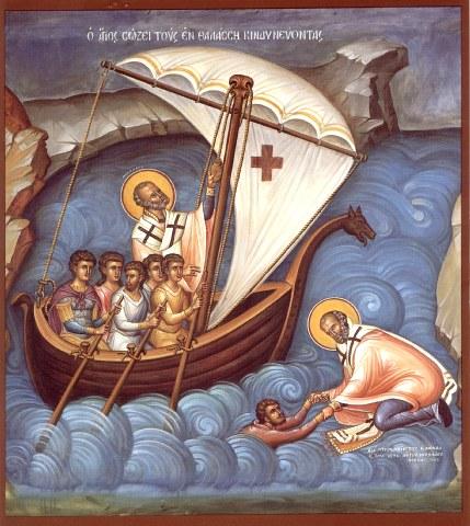 Ο Άγιος Νικόλαος Αρχιεπίσκοπος Μύρων της Λυκίας. (Δείτε & Ακοούστε το). 6 Δεκεμβρίου ε.ε.