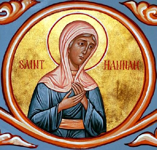 Δικαία Άννα η προφήτιδα Μητέρα του προφήτη Σαμουήλ. 9 Δεκεμβρίου ε.ε.
