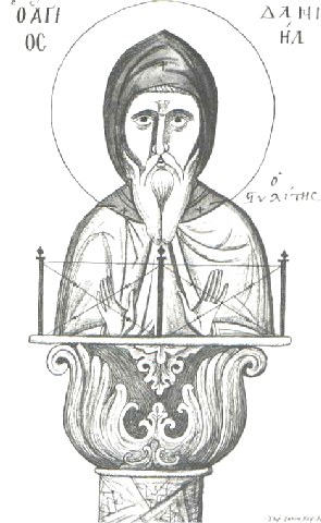 Όσιος Δανιήλ ο Στυλίτης. 11 Δεκεμβρίου ε.ε.