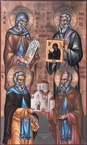 Άγιοι Νεόφυτος, Ιγνάτιος, Προκόπιος κ Νείλος, κτίτορες της Ι. Μονής Μαχαιρά. 13 Δεκεμβρίου ε.ε.