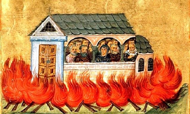 Άγιοι Δισμύριοι (20.000) μάρτυρες που κάηκαν στη Νικομήδεια. 28 Δεκεμβρίου ε.ε.