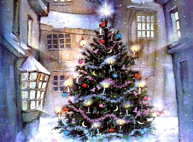 Χριστουγεννιάτικο δέντρο.
