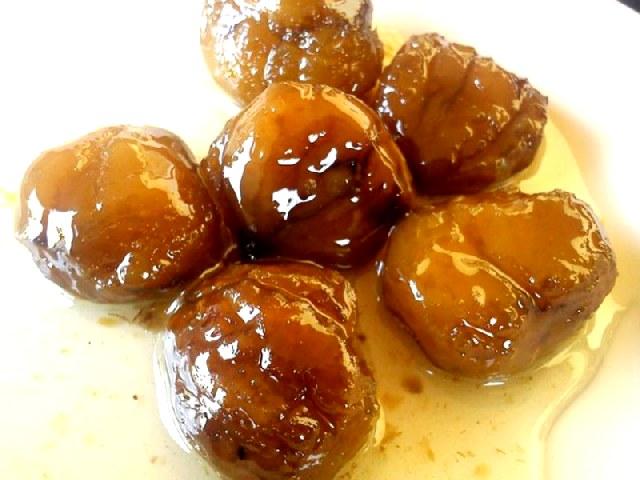 Κάστανο γλυκό του κουταλιού.
