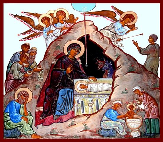 'Υμνοι Χριστουγέννων. Χριστός Γενάτε - Μυστήριον ξένον. (Ακούστε τους)