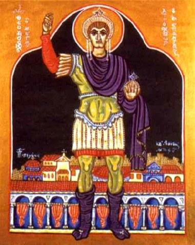 Άγιος Θεοδόσιος ο Μεγάλος ο βασιλεύς. 17 Ιανουαρίου ε.ε.