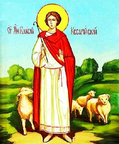 Άγιος Βλάσιος ο Βουκόλος. 3 Φεβρουαρίου ε.ε.